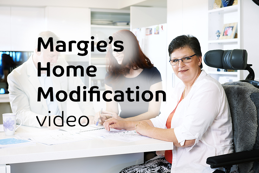 & Access Margie's Home Modification
