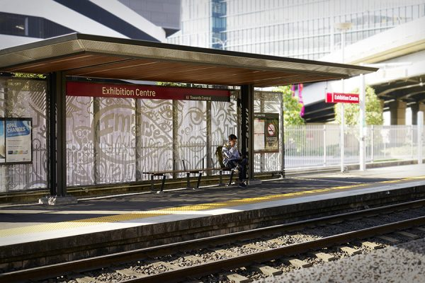 Architecture & Access Sydney Light rail accessible tram stop design