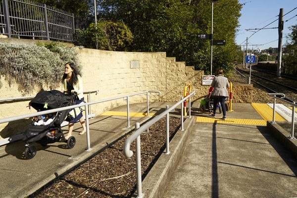 Architecture & Access Sydney Light rail accessible infrastructure