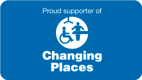 Proud Supporter of Changing Places
