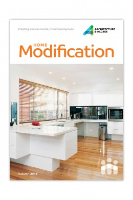 Home Modification Brochure button
