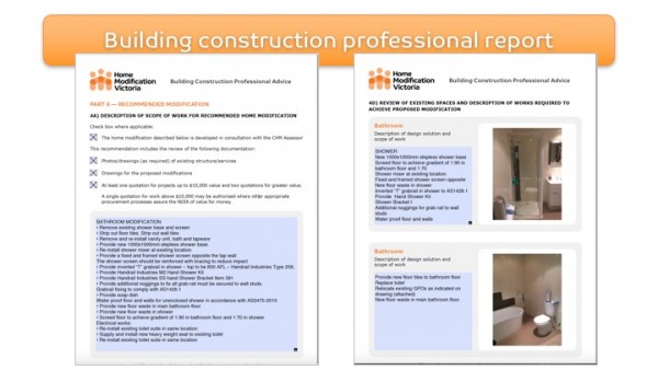 Figure 11: Home Modification Victoria Building Construction Professional Report