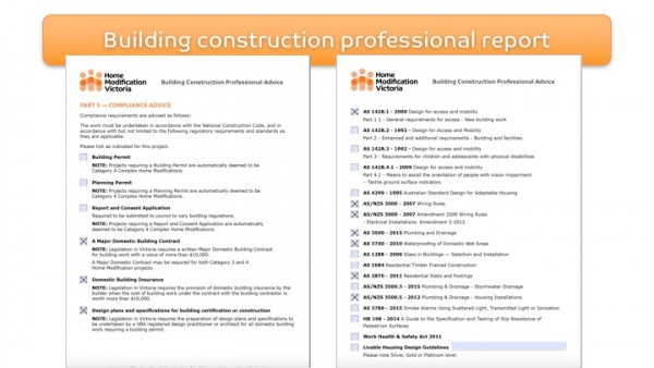 Figure 10: Home Modification Victoria Building Construction Professional Report