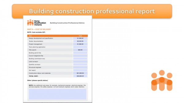 Figure 12: Home Modification Victoria Building Construction Professional Report