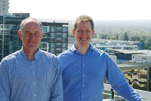 Steve Schulze and Grant Wooller lead the Architecture & Access team in South Australia
