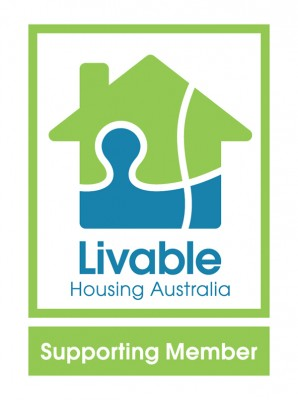 Livable Housing Australia Supporting Member logo