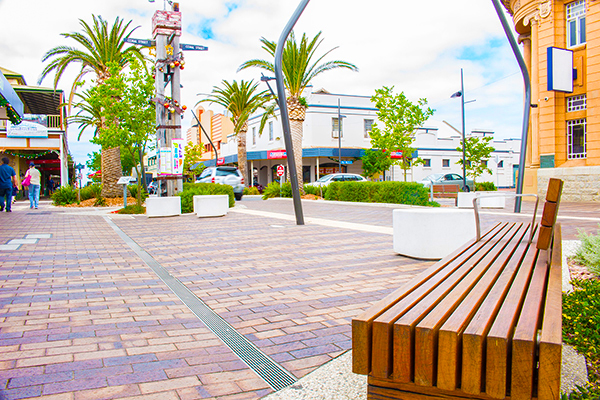 Architecture & Access provided access consulting services to the Victor Harbor mainstreet precinct development