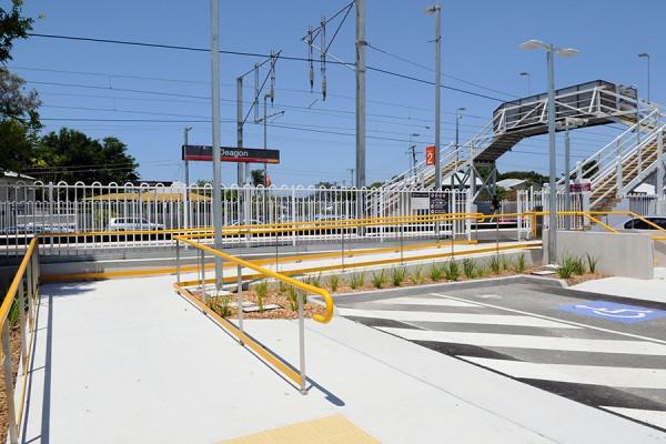 Architecture & Access Queensland Rail Access Audit Project Richlands Station deagon twenty/20 construction