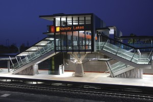 Architecture & Access Queensland Rail Access Audit Project Varsity Lakes Station